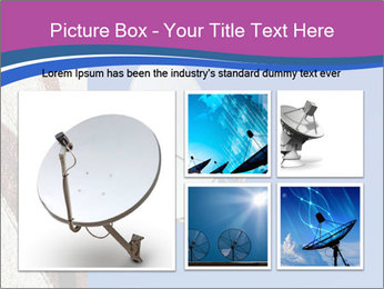 Satellite dish PowerPoint Template - Slide 19