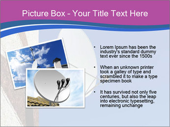 Satellite dish PowerPoint Template - Slide 20