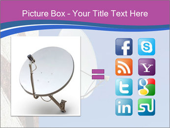 Satellite dish PowerPoint Template - Slide 21