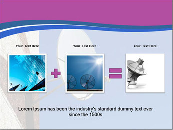 Satellite dish PowerPoint Template - Slide 22