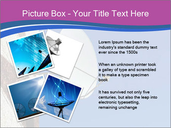 Satellite dish PowerPoint Template - Slide 23