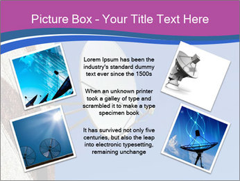 Satellite dish PowerPoint Template - Slide 24