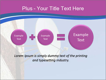 Satellite dish PowerPoint Template - Slide 75
