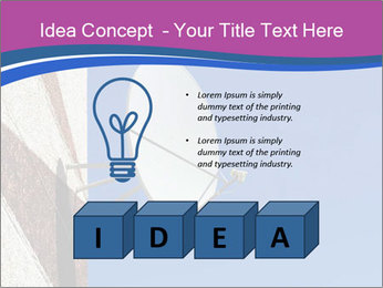 Satellite dish PowerPoint Template - Slide 80