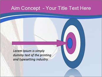 Satellite dish PowerPoint Template - Slide 83