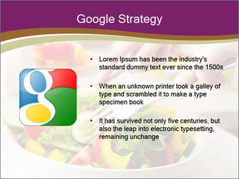 Tasting salad PowerPoint Template - Slide 10