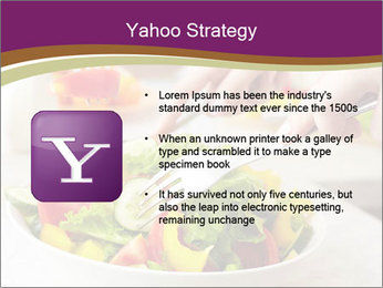 Tasting salad PowerPoint Template - Slide 11