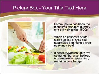 Tasting salad PowerPoint Template - Slide 13