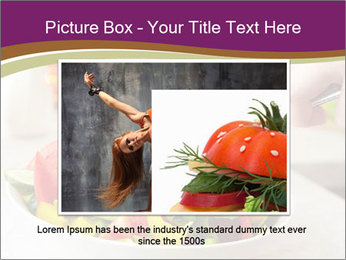 Tasting salad PowerPoint Template - Slide 16