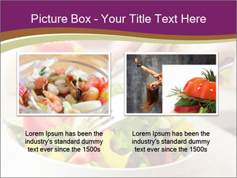 Tasting salad PowerPoint Template - Slide 18