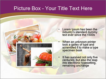 Tasting salad PowerPoint Template - Slide 20