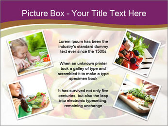 Tasting salad PowerPoint Template - Slide 24