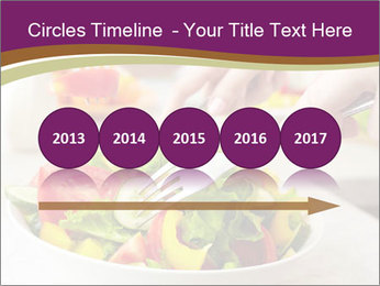 Tasting salad PowerPoint Template - Slide 29