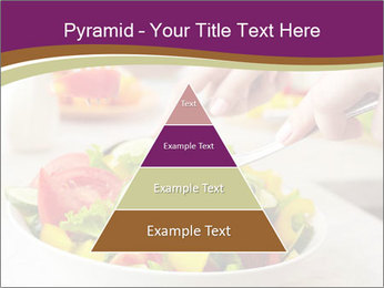 Tasting salad PowerPoint Template - Slide 30