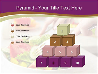 Tasting salad PowerPoint Template - Slide 31