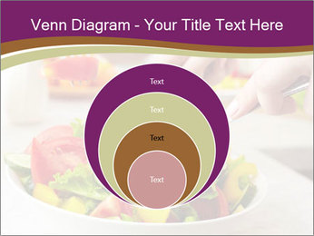 Tasting salad PowerPoint Template - Slide 34