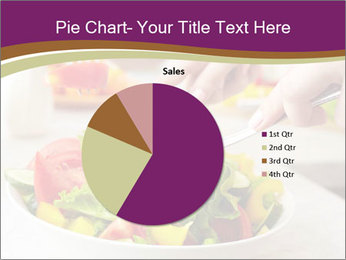 Tasting salad PowerPoint Template - Slide 36