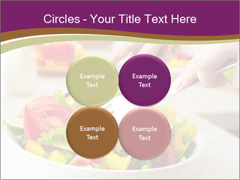 Tasting salad PowerPoint Template - Slide 38