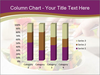 Tasting salad PowerPoint Template - Slide 50