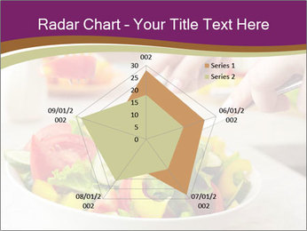 Tasting salad PowerPoint Template - Slide 51