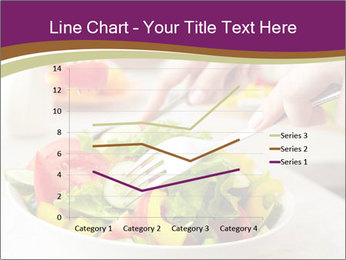 Tasting salad PowerPoint Template - Slide 54