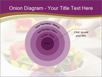 Tasting salad PowerPoint Template - Slide 61