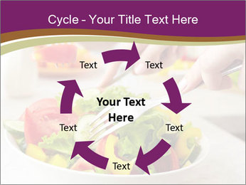 Tasting salad PowerPoint Template - Slide 62
