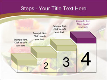 Tasting salad PowerPoint Template - Slide 64