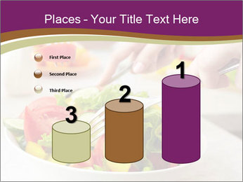Tasting salad PowerPoint Template - Slide 65