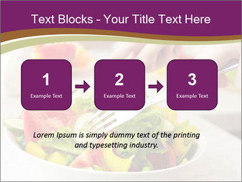 Tasting salad PowerPoint Template - Slide 71