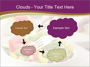 Tasting salad PowerPoint Template - Slide 72