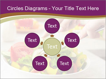 Tasting salad PowerPoint Template - Slide 78