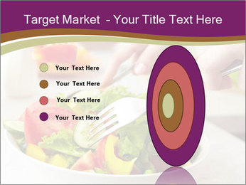 Tasting salad PowerPoint Template - Slide 84