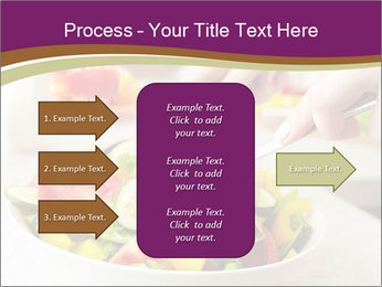 Tasting salad PowerPoint Template - Slide 85