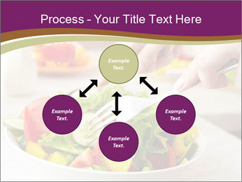Tasting salad PowerPoint Template - Slide 91