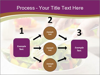 Tasting salad PowerPoint Template - Slide 92