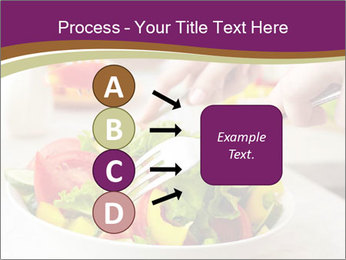 Tasting salad PowerPoint Template - Slide 94