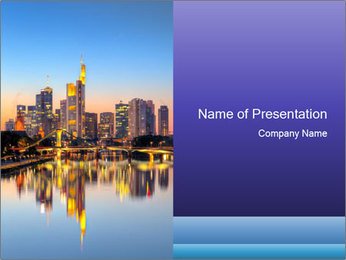 Frankfurt am Main PowerPoint Templates - Slide 1