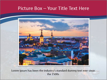 Night view of Montenegro PowerPoint Template - Slide 16