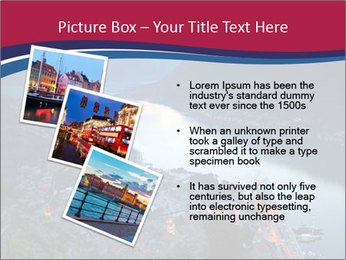 Night view of Montenegro PowerPoint Templates - Slide 17