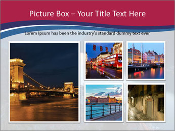 Night view of Montenegro PowerPoint Template - Slide 19