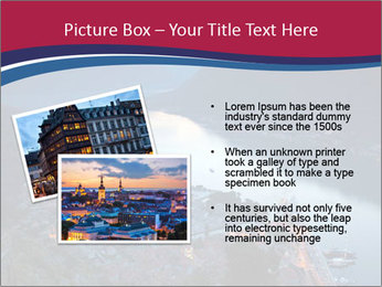 Night view of Montenegro PowerPoint Template - Slide 20