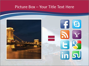 Night view of Montenegro PowerPoint Template - Slide 21