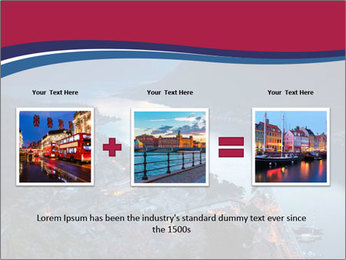 Night view of Montenegro PowerPoint Template - Slide 22