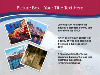 Night view of Montenegro PowerPoint Template - Slide 23
