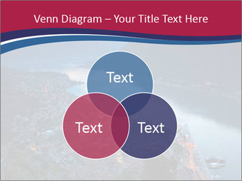 Night view of Montenegro PowerPoint Template - Slide 33