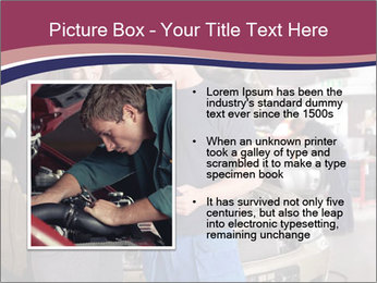 Mechanic and woman PowerPoint Template - Slide 13