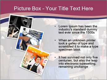 Mechanic and woman PowerPoint Template - Slide 17