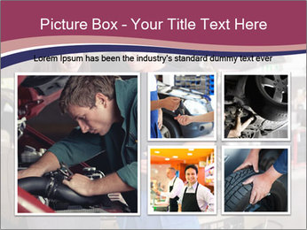 Mechanic and woman PowerPoint Template - Slide 19
