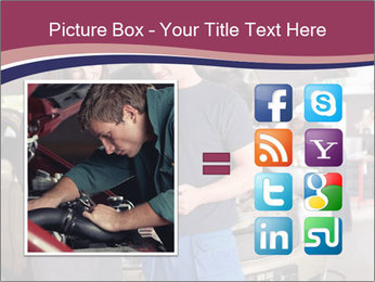 Mechanic and woman PowerPoint Template - Slide 21
